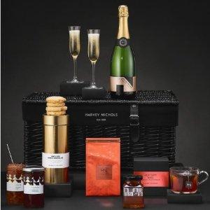 £19起收Harvey Nichols 高档美食、美酒Hamper 限时包邮 可指定日期
