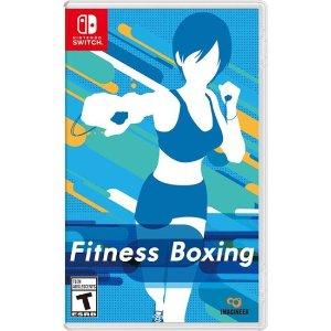游戏抢鲜看: 边玩儿游戏边健身《健身拳击》Switch 实体版