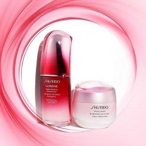 低至4.8折 收时光琉璃粉霜Shiseido资生堂 美妆护肤热促 红腰子、小蓝瓶防晒都有