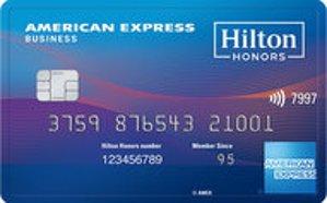 Earn 125,000 Hilton Honors Bonus Points. Terms ApplyThe Hilton Honors American Express Business Card