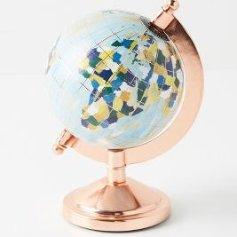 Kayla Nord Wanderlust Globe | Anthropologie