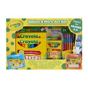 $14.95Crayola 基础绘画蜡笔、水彩笔等套装
