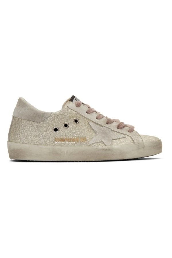 SSENSE Exclusive 亮片脏鞋