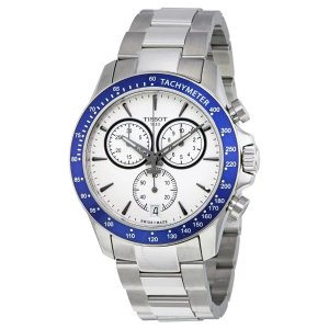 TissotT-Sport Silver Dial Chronograph Men's Watch