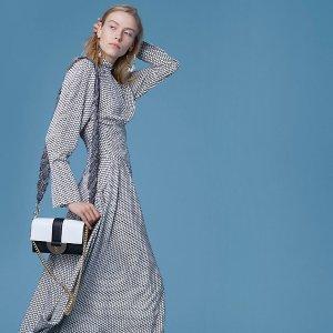 Diane von FurstenbergHigh Neck Halter Dress