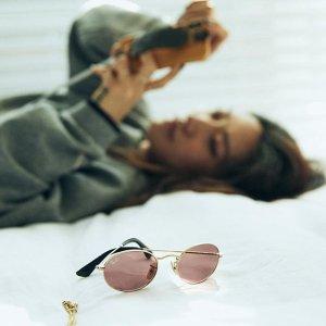 低至5折 $89起Ray-Ban 雷朋墨镜大促 路人秒变大咖的秘诀 粉色镜框墨镜$138