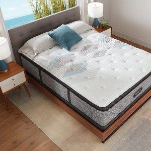 6折 $719收超硬Queen席梦思睡美人 新款 Harmony Lux系列豪华控温床垫
