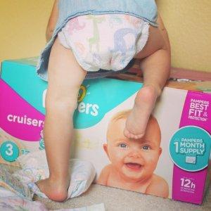 买1送1,养娃从纸尿裤开始Pampers 帮宝适 精选婴儿纸尿裤 大促