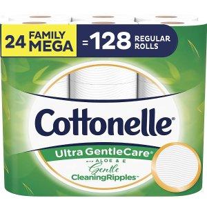 $17.92(原价$25.18)Cottonelle 24卷 超大卷厕纸