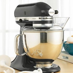 $199KitchenAid KSM150PS Stand Mixer, 5 Qt. Artisan in Caviar