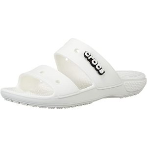 Crocs经典凉拖 白色款