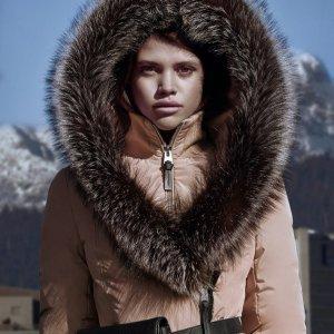 8.9折+变相7.7折 收御寒毛领款11.11独家:Mackage 女士时尚羽绒服、风衣热卖