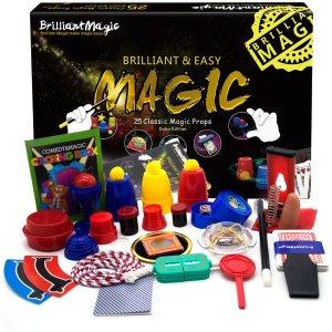 $38(原价$42) 免邮BrilliantMagic 儿童魔术教学套装 25种经典魔术 DVD教学视频