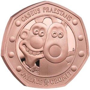 The Royal Mint50P 精铸金币