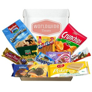 $28.95+Free ShippingEuropean Snack Mix Package by WorldWideTreats! Snacks from Poland, Greece, Spain, Italy and more!