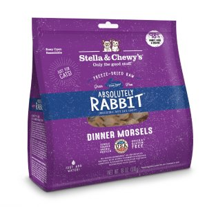 Stella & Chewy'sStella & Chewy's Absolutely Rabbit Dinner Morsels Grain Free Freeze Dried Raw Cat Food | Petflow