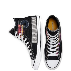 Converse拼接帆布鞋