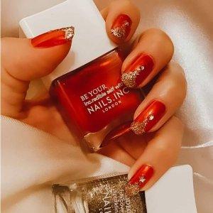 3.2折起+送正装指甲油Nails Inc 冬促再降 秋冬巧克力色上新 做美甲迎新年