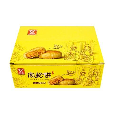友臣 金丝肉松饼 原味 500g 15pc