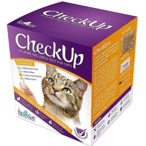 CheckUp 宠物健康检测礼盒,60秒在家自测爱宠身体状况