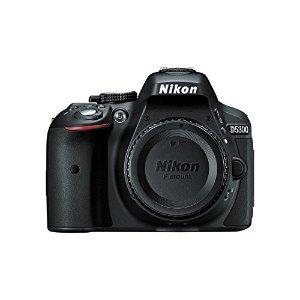 $479.99(原价$699.97)Nikon 尼康D5300 单反相机+ 18-55mm镜头 + 相机包