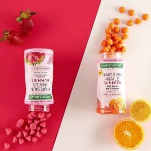 低至4.5折Nature's Bounty 软糖等保健品限时热卖 $4收维生素D3软糖