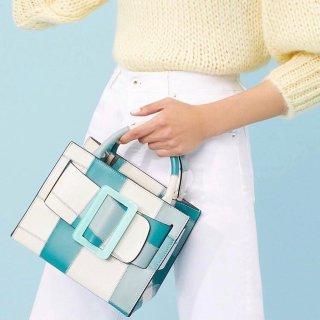 封面款薄荷蓝Karl再降价 到手¥4900Boyy 年中大促升级,Bobby低至¥3563,今年最流行PVC包