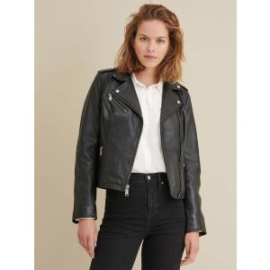 Wilsons LeatherMadeline Asymmetrical Leather Jacket