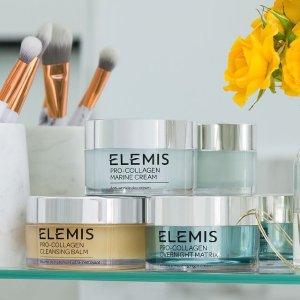 或任意正装送价值$71好礼折扣升级:ELEMIS 护肤热卖 15ml骨胶原面霜仅$10 原价$45