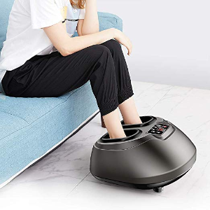 $79.99 Foot Massage AREALER Kneading Shiatsu Therapy Feet Massage Machine