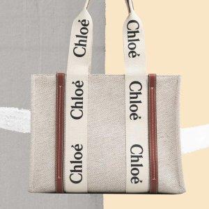 £550起 三个size可选Chloe官网 春夏新款woody tote热卖 目测春夏爆款