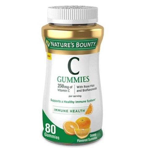 Nature's Bounty Vitamin C, 80 Count