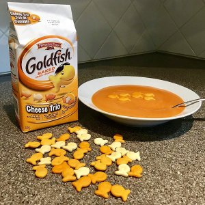 $1.97(原价$4.56)凑单佳品!Pepperidge Farm Goldfish 小金鱼芝士饼干 多种口味