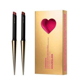 $72New Release:Hourglass Valentine's Day Lipstick Set