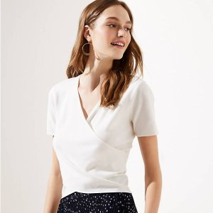 Up to 2 For $15LOFT Select Tops Sales