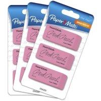 PAPER MATE 大号粉色橡皮9块
