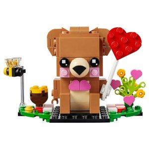 Lego情人节小熊 40379 | 方头仔系列