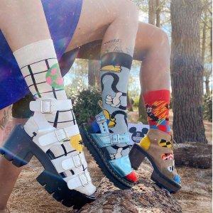 脚尖上的童话世界Happy Socks 迪士尼合作款美袜上新