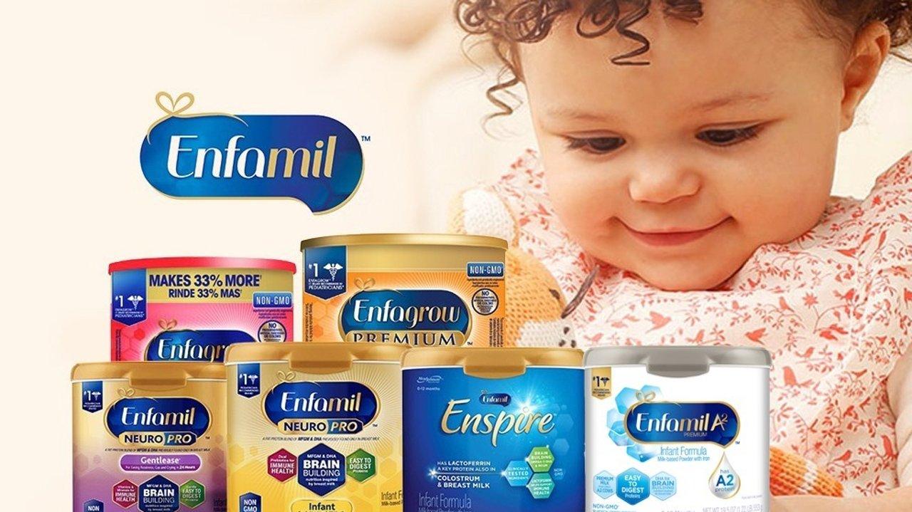 2020 美国美赞臣 Enfamil 婴儿奶粉配方奶选购攻略