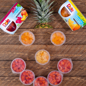 $19.68 仅$0.4/罐Dole 水果杯罐头177ml * 48罐,混合橘子及菠萝味好价促销