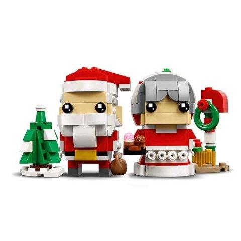 $13.99(原价$19.99)史低价:LEGO BrickHeadz 系列 圣诞老爷爷和老奶奶套装 40274