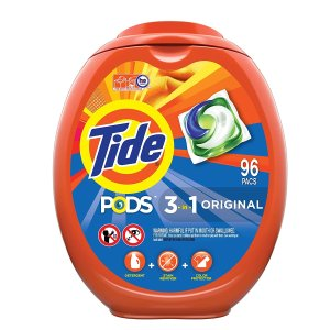 Tide PODS Laundry Detergent Liquid Pacs, 96 Count