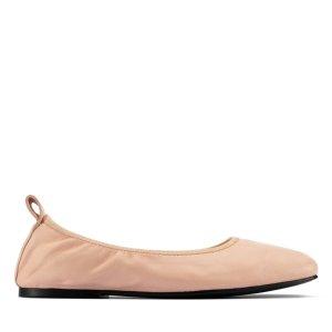 Clarks芭蕾鞋 肉粉色
