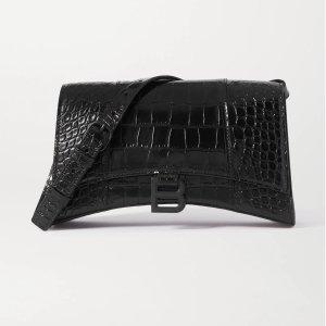 Balenciaga相当于美金$1246Hourglass croc-effect 沙漏包