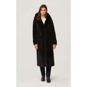 Soia & KyoCOLETTE 100%纯羊毛大衣