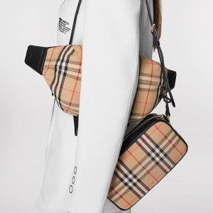 低至3折Burberry 男女服饰热卖 入手相机包$500+,Logo TEE$234