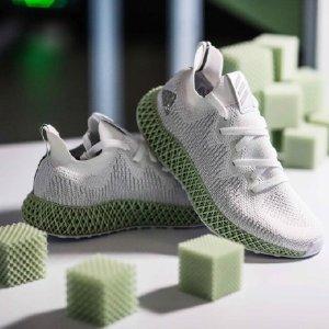 8折 两色可选 男女款都有Adidas官网 黑科技运动鞋ALPHAEDGE 4D来袭