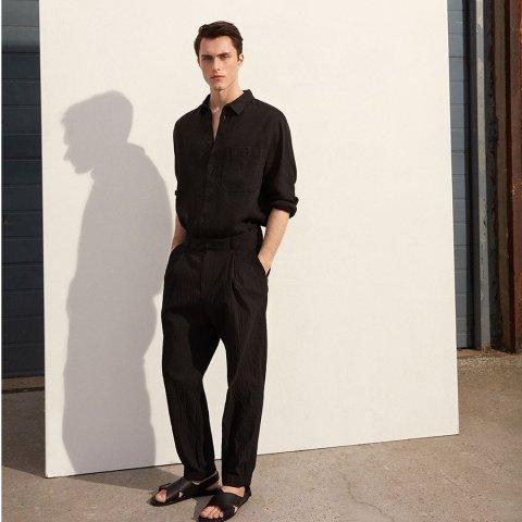 低至5折 纯棉T恤$11COS 男装大促 简约好看 质感美衣穿出帅气