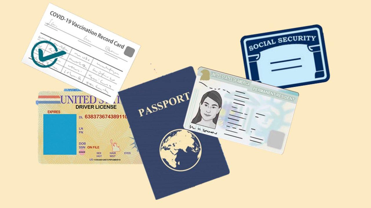 在美国遗失CDC疫苗卡,SSN,驾照,绿卡等等证件怎么办?重要证件遗失补办一贴Get!