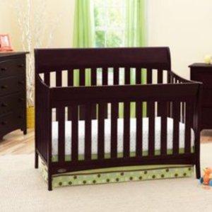 $169(原价$299)Graco Rory 4合1婴儿床